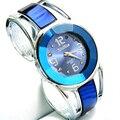 Creativa 2015 Nuevo reloj de Cuarzo reloj de pulsera de Color Caramelo Relojes Venda de la Aleación Mujeres Regalo Pulsera Del Vestido de Pulsera de Cuarzo reloj
