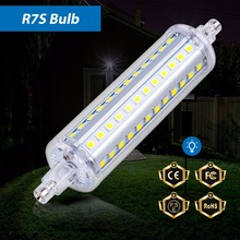 New R7S Led Lamp Watt 5W 10W 12W 15W Tube Bulb SMD2835 78mm 118mm 135mm 189mm Light 85-265V Replace Halogen