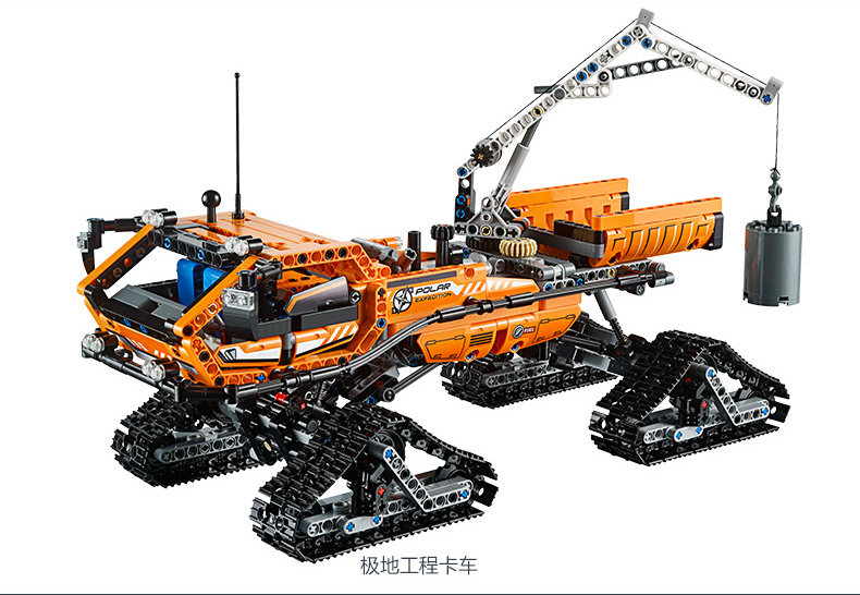 children toy CHINA BRAND 20012 self-locking bricks Compatible with Lego Technic Arctic Truck 42038 without original box