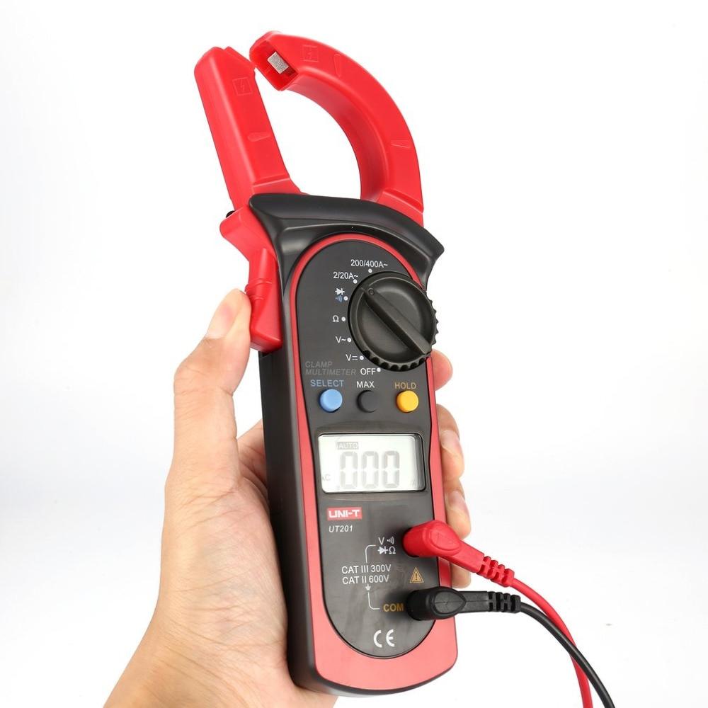 Multitester Strom Spannung Widerstand Tester Digital Clamp Meter EINHEIT DC/AC Volt Amp Ohm Diode Mini Amperemeter Sonde