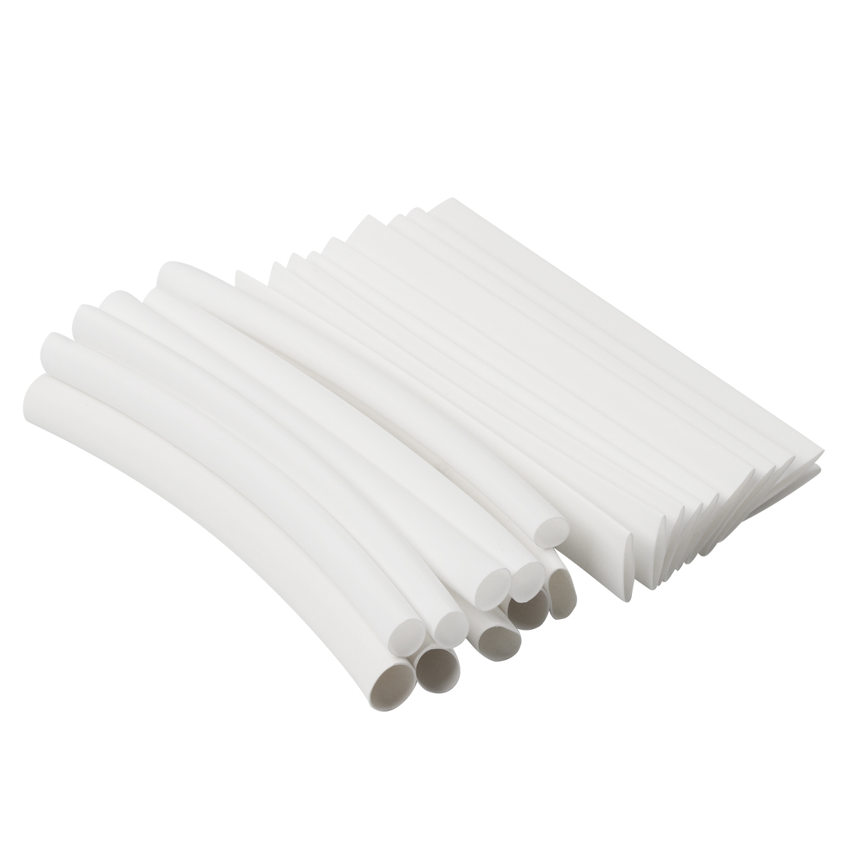 20pcs 1M Heat Shrink Tubing Sleeve White 3/4:1 Wrap Wire For iPhone For iPad For Android For Samsung Data Line Heatshrink Tubes