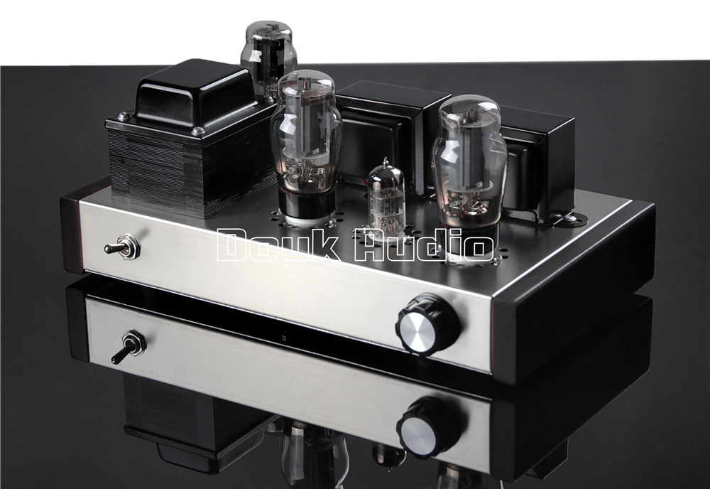 2018 Latest Douk Audio 6P3P Valve Tube Amplifier HIFI Single-ended Class A Tube Amp Power Amplifier douk audio pure handmade mini 6p3p vacuum tube amplifier 2 0 channel stereo hifi class a power amp 5w 2