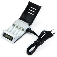 Original 8175 4 Slots LCD Display Smart Intelligent Battery Charger for AA AAA Ni Cd Ni Mh Rechargeable Batteries free shipping