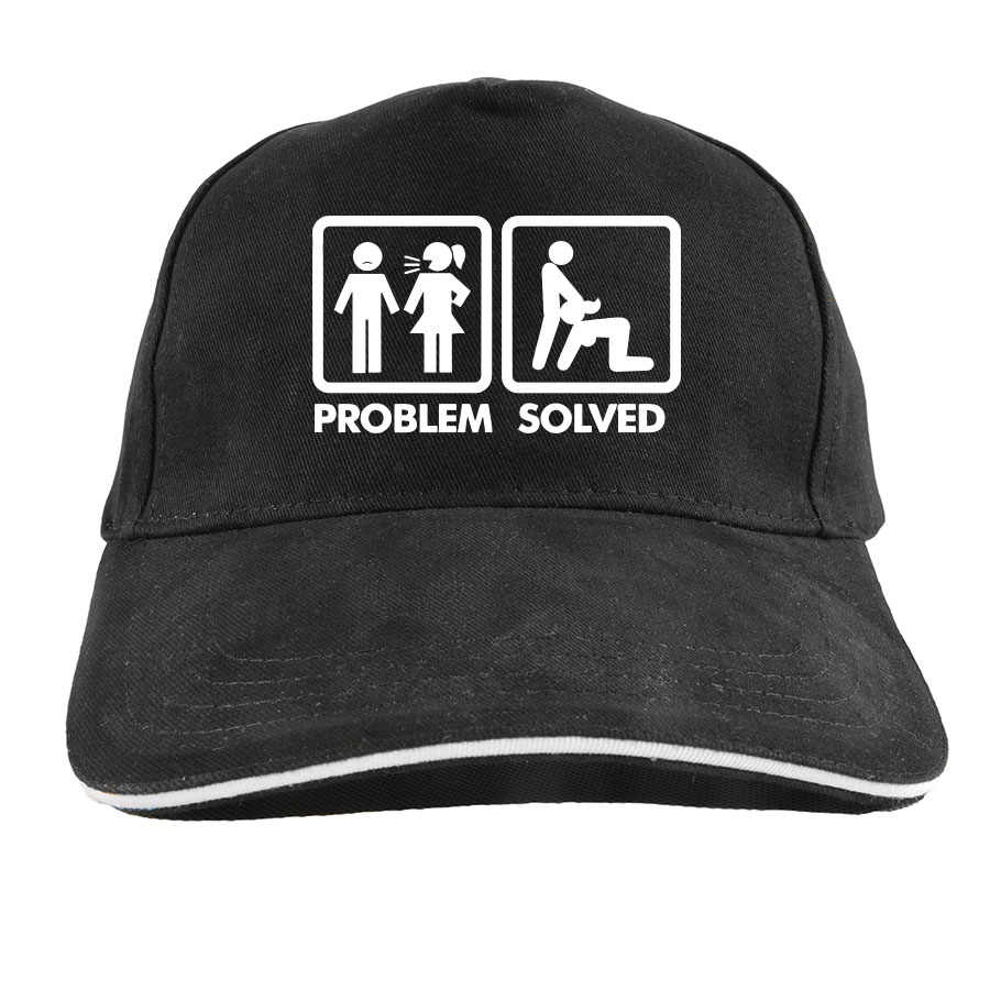 Detail Feedback Questions about Problem Solved Funny Baseball Cap  Originality Adult Humour Dad Hat Cotton Adjustable Casual Casquette on  Aliexpress.com ... 429f36dd81f5