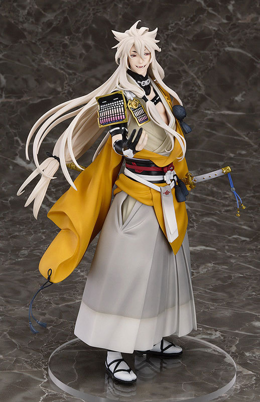 Huong Anime Figure 23.5 CM Touken Ranbu Online kogitsunemaru Fox Ball 1/8 Scale PVC Action Figure Collectible Model Toy touken ranbu online good smile face changable 511 mikazuki munechika nendoroid pvc action figure collectible model toy
