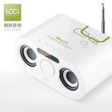 D68 Mini Cartão Bluetooth Speaker Pequeno Rádio Surround 3D Mp3 Player de Áudio Do Telefone Móvel para Telefones com Microfone Altifalante