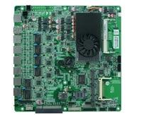 Mini-itx bo mạch chủ cho 6 lan, intel 1037u máy chủ mainboard, bo mạch định tuyến dc 12 v