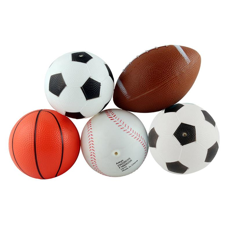4PCS Beach Ball Set Inflatable Party Balls Pool Balls Beach Toys Party Favors for Summer Beach