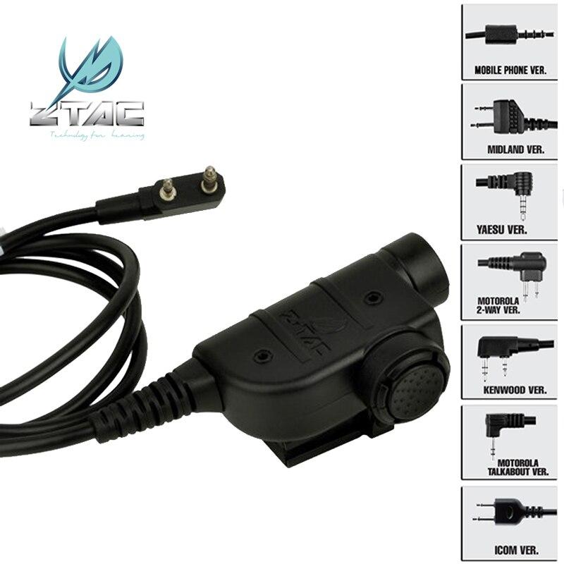 Z-TAC Air Gun Tatical Arsoft ZSordin Active Headphones Peltor Tactical Headset With z tac Softair Z tactical Midland PTT kenwood