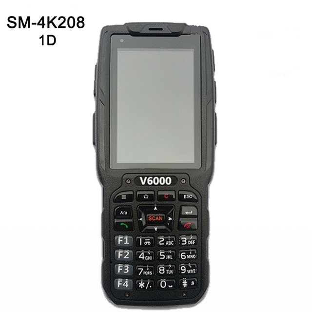 3.2 inch IP65 Industrial Handheld PDA 3G wireless POS data collector 1D Laser barcode scanner Android 4.2 Data Terminal
