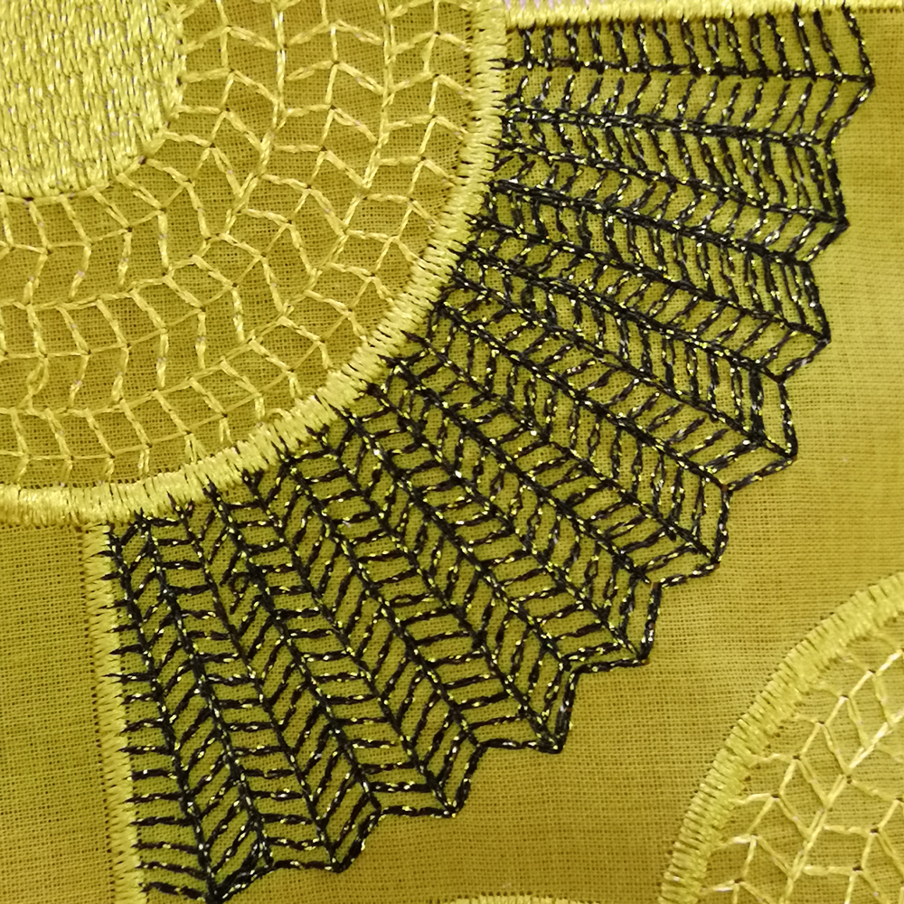 African-lace-fabric-yellow