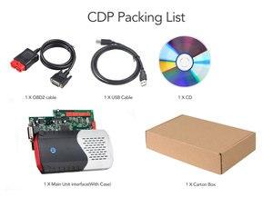 Image 5 - 10PCS CDP TCS Double Green V3.0 NEC board Bluetooth 2015.R3 software OBD II scanner cars trucks OBD2 diagnostic tool