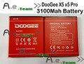 100% nova bateria 3100 mah substituição doogee x5s acessório acumuladores para doogee x5 pro/x5 smart phone + em estoque