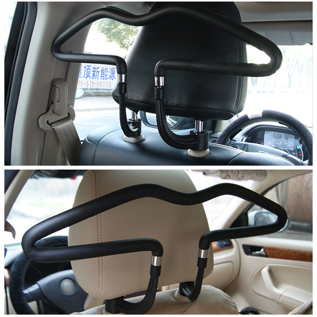 PU Leather Car Clothes Hanger
