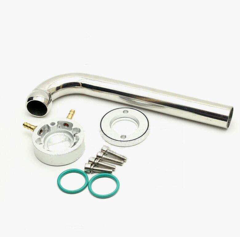Tuyau d'échappement W anneau de bride de refroidissement par eau pour moteur 26/29/30/32cc ZENOAH 100-105 degrés pièce de rechange pliée pour bateau à essence RC