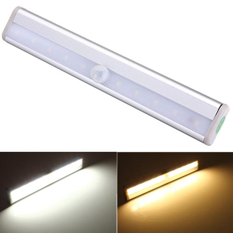 White  Warm White Color Wireless Pir Motion Sensor Lamp