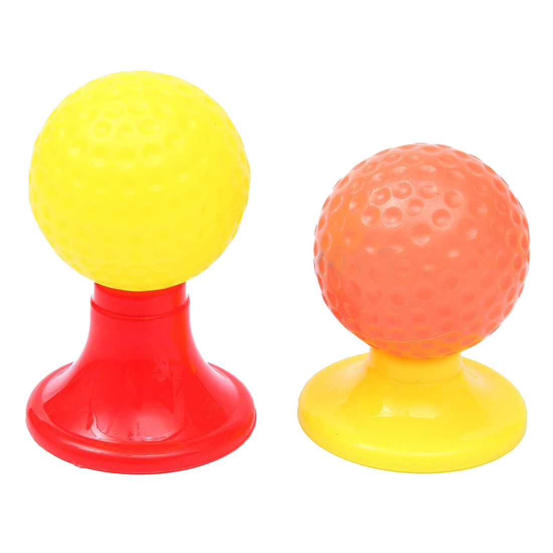 KEOL Best Sale Golf Set Putter Plastic 3 Balls + 2 Tees + 3 golf Cue+ Golf Hole Kids Toy