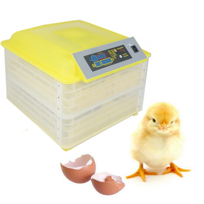 Large Capacity 96 eggs auto hatcher equipment chicken duck goose poultry incubator with CE Certification стоимость
