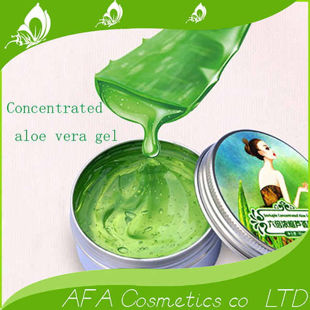 30g 100% Pure Natural Aloe Vera Gel Wrinkle Removal Moisturizing Anti Acne Anti-sensitive Oil-Control Aloe Vera Sunscreen Cream 4