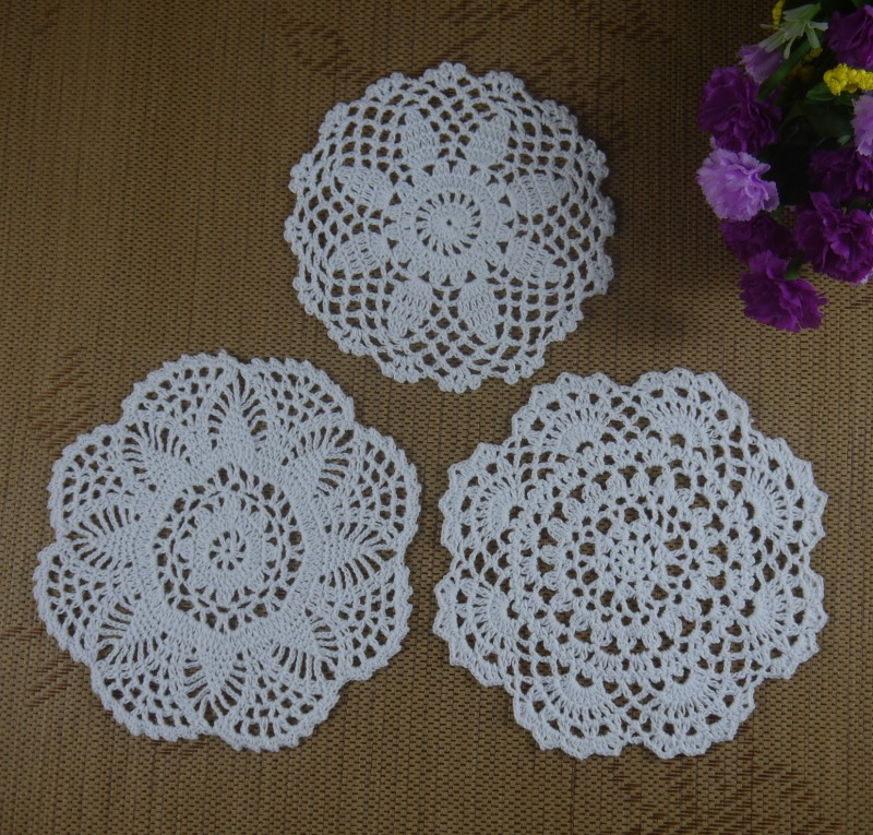Handmade Crochet Doilies Patterns 16 20cm Wallpaper