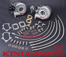 Kinugawa Twin Turbocharger Kit Bolt-On TD05H-16G Ni**an Skyline GT-R RB26DETT #322-02035-002*2