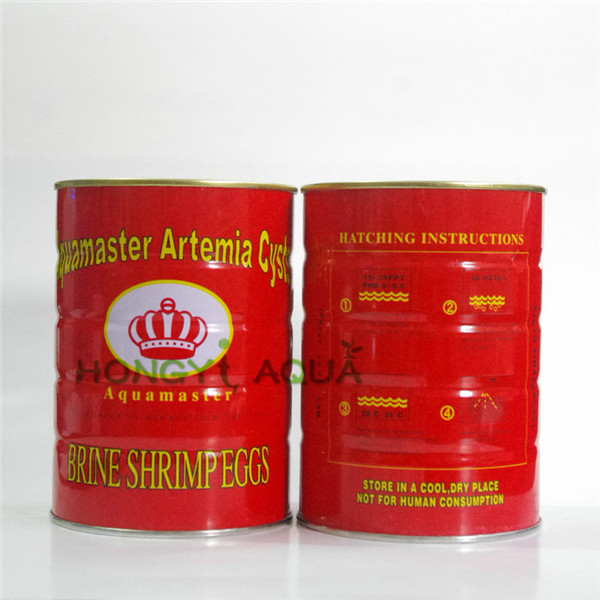 Free shipping granules 425g artemia shrimp eggs fish and shrimp feed high hatching rate big red