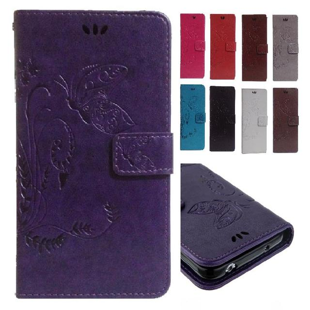 Flip Case for HTC Desire 816 G D816G Dual SIM D816h Butterfly Leather Case Wallet Flip Phone Cover for HTC Desire 816g desire816