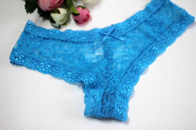 Women's panties Sheer Lace underwear briefs