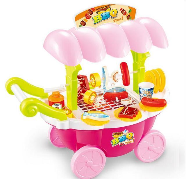 Täuschen Spiel küche Set Nahrungsmittelspielwaren Kunststoff Mini ...