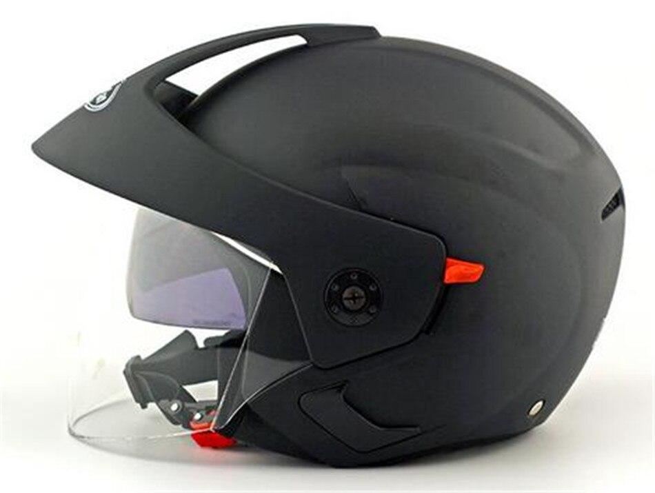 Grey color New Arrival Motorcycle Helmet Open Face Double Lens Capacete Casco nuoman Brand casco