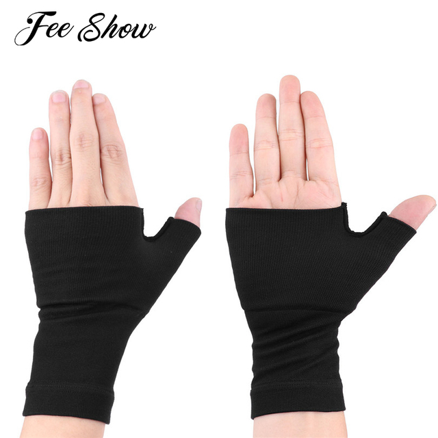 769006585c 1 Pair Compression Medical Palm Wrist Band Gloves Carpal Tunnel Pain Relief  Tendinitis Fitness Hand Supports Sleeve Wrap Brace