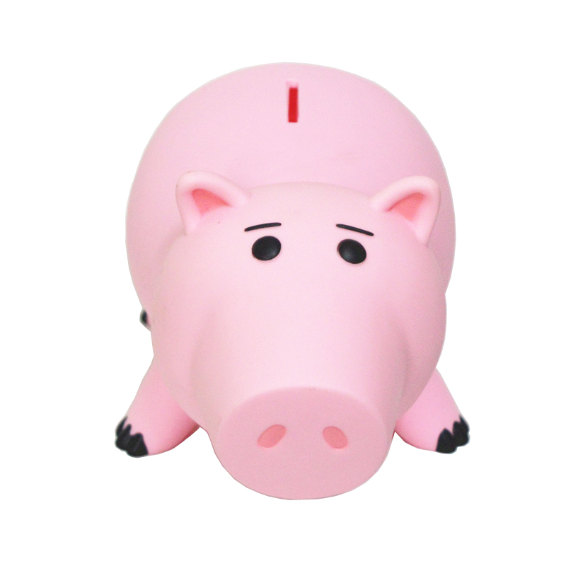 20cm High Quality Toy Story Animal Hamm Piggy Bank Pink Pig Coin Box PVC Action Model Toy Figures With Retail Box Toys For Boys the toy story pink pig hamm action figure toy doll