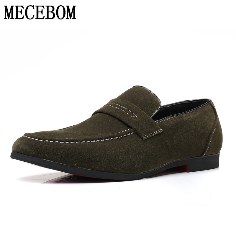 Mens Loafers Shoes spring autumn slip-on casual men shoes flats plus size 38-47 moccasins 1616m
