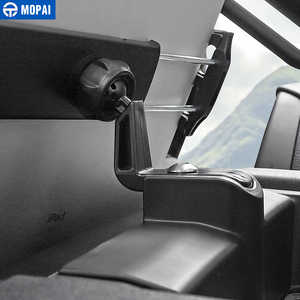 Image 5 - MOPAI Car GPS Mobile Phone Ipad Holder Bracket Cellphone Stand Stickers for Ford F150 2015 Up Interior Accessories Car Styling