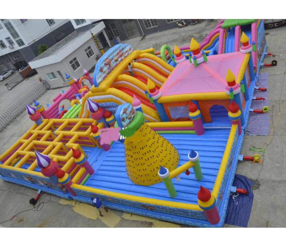 Big Size Fantastic Dream Castle Bouncy Castle For Children Play Inflatable  Playground Inflatable Toys  In Inflatable Bouncers From Toys U0026 Hobbies On  ...