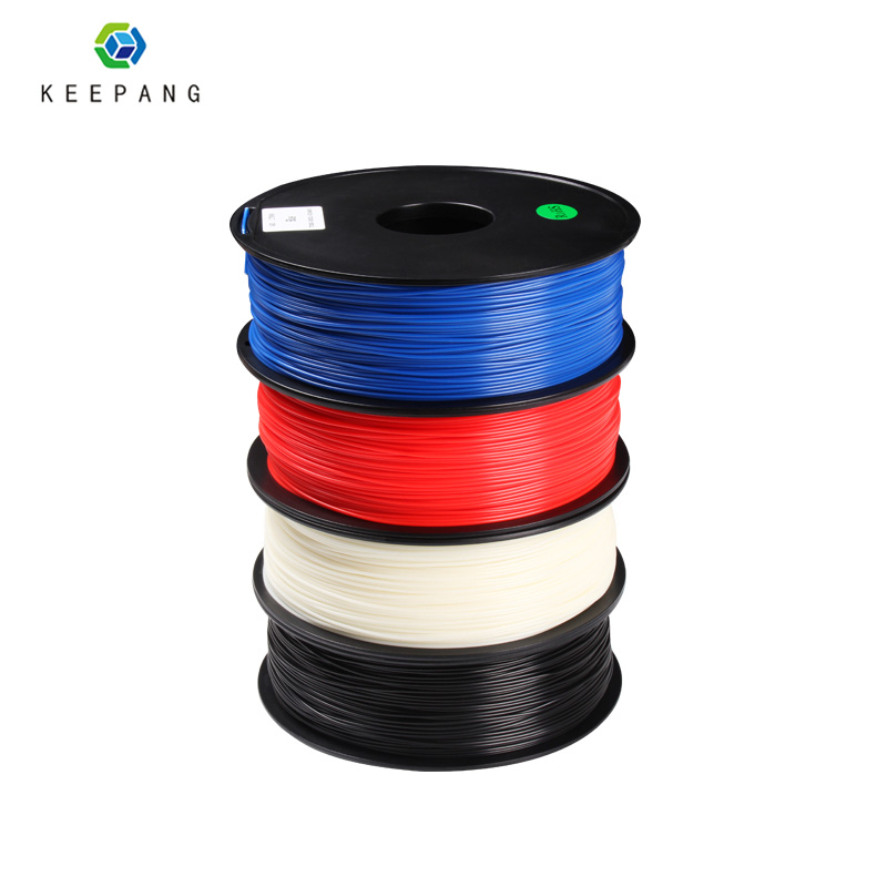 Solid ABS Filament 3D Printer 1.75mm 1kg Plastic Rubber Consumables Material Colors Optional For 3D Printing Materials
