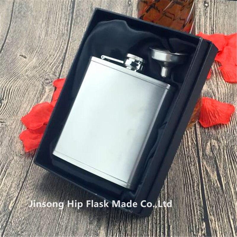 6 ออนซ์ Lipped ของขวัญกล่อง-ใน ขวดเหล้าพกพา จาก บ้านและสวน บน   1