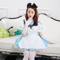 Hot Sale Sexy Alice Lolita Dress Maid Cosplay Carnival Halloween Costumes For Women