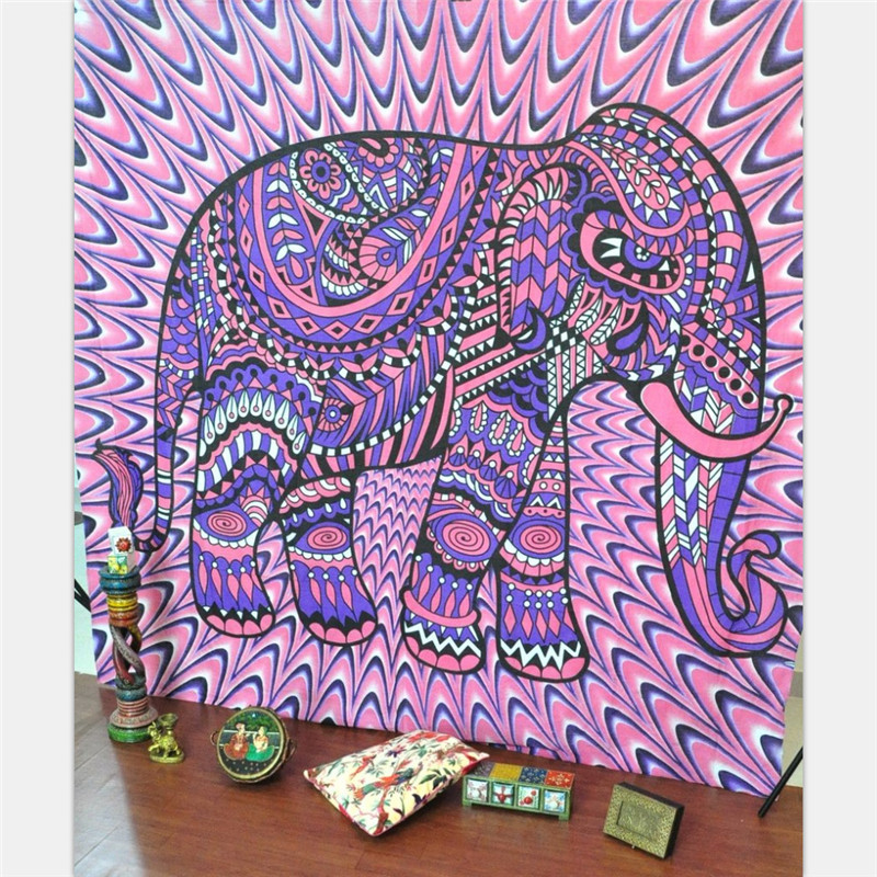 India elephant tapestry Psychedelic Tapestry Hippie Wall