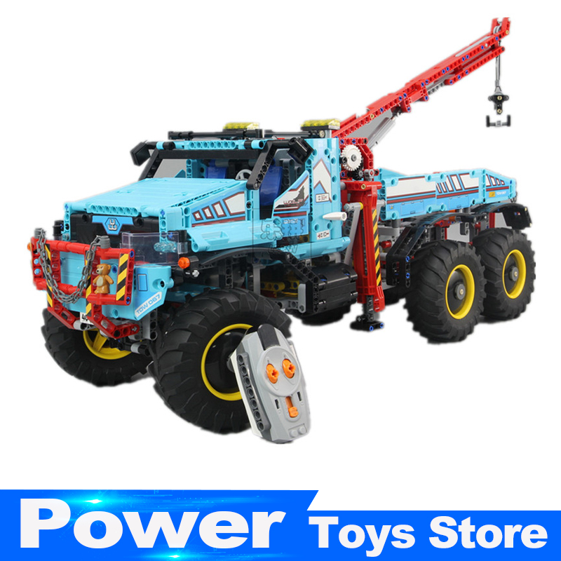 In Stock Lepin 20056 Technic Series The Ultimate All Terrain 6X6 Remote Control Truck Set Building Blocks Bricks Toy Clone 42070 inov 8 сумка all terrain kitbag black