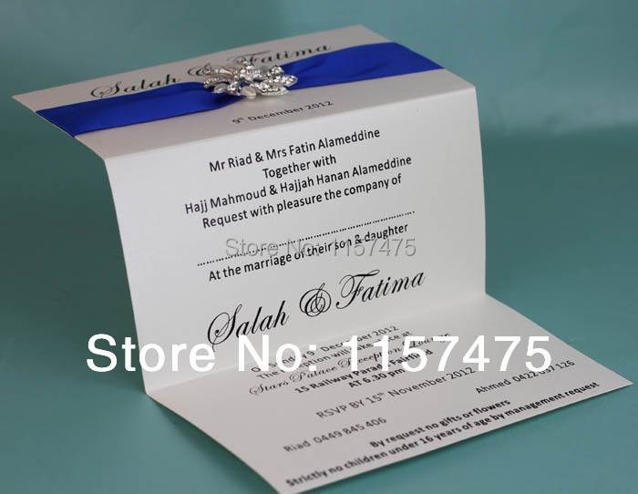 aliexpress : buy hi1002 hot sale fantastic tri fold wedding, Wedding invitations