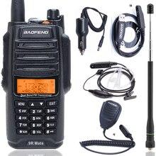 UV 9R Mate Upgrade Baofeng UV 9R IP67 Waterproof UV Dual Band 136 174/400 520MHz Ham Baofeng 10W Radio10 KM UV 9R combinatio