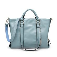 Luxury Handbags Women Bags Designer 2017 Famous Brands Shoulder Bag Large PU Leather Ladies Hand Bags Messenger Simple Tote Bag