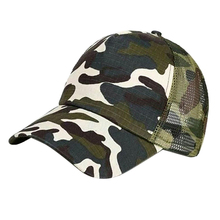 Unisex Baseball Cap Camouflage Adjustable for Men Women Hat  Sun Topee