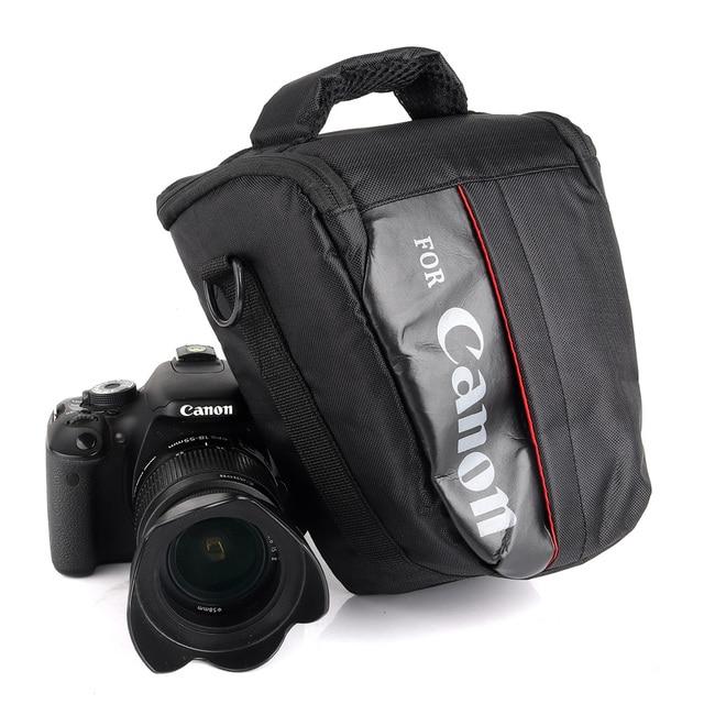 Không thấm nước DSLR Camera Bag Trường Hợp Đối Với Canon EOS 1300D 1200D 1100D 750D 800D 200D 60D 77D 70D 5D 6D 7D 100D 760D 700D 600D 650D T7