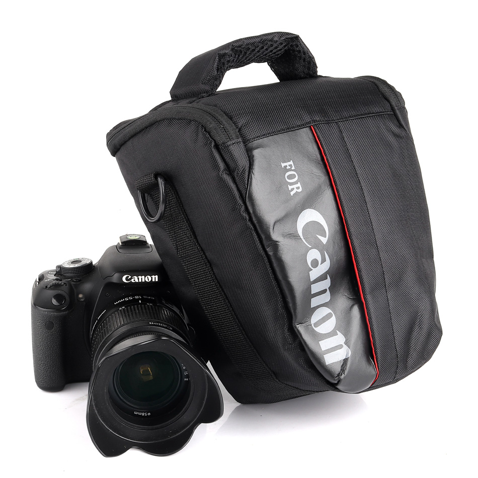 Waterproof DSLR Camera Bag Case For Canon EOS 1300D 1200D 1100D 750D 800D 200D 60D 77D 70D 5D 6D 7D 100D 760D 700D 600D 650D T7 huwang dslr camera bag case for canon eos 1300d 5d 6d 7d ii iii 800d 77d 750d 60d nikon d3400 d5300 sony alpha a7 photo backpack