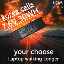 HSW  Battery 7.5V 30WH for Asus X453 B21N1329 (X553MA) laptop batteria batterie