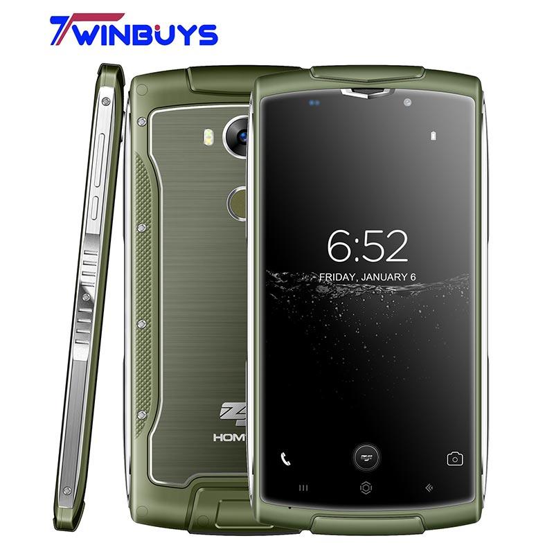 Оригинальный HOMTOM зоджи Z7 2 ГБ + 16 ГБ MTK6737 1,3 ГГц 4 ядра 5,0 дюймов Экран 3000 мАч Android 6,0 IP68 Водонепроницаемый 4 г LTE смартфон