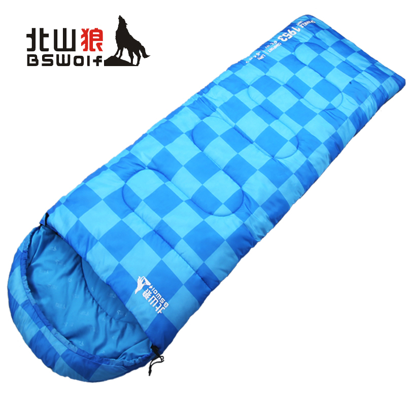 Ultralight Outdoor camping sleeping bag adult Envelope travel cotton warm sleeping bag tourist equipment Can be spliced bags nh outdoor camping indoor lunch adult sleeping bags of ultra light warm seasons can be spliced herringbone cotton bag