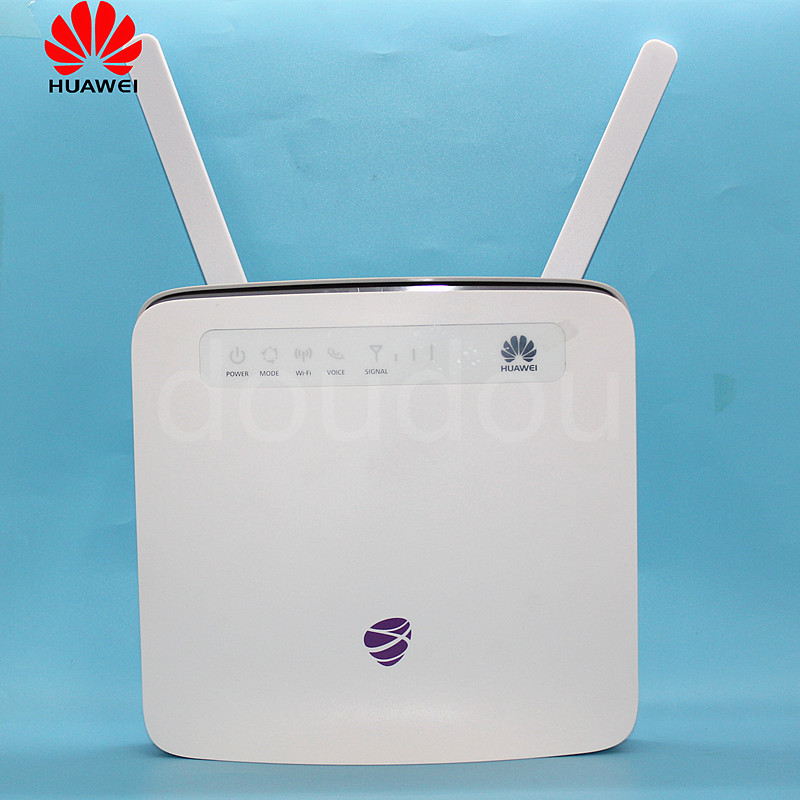 Unlocked Huawei E5186  E5186s 22a  with Antenna 4G LTE  300Mbps CPE Wireless Router Gateway Hotspot PK B593,B310-in 3G/4G Routers from Computer & Office